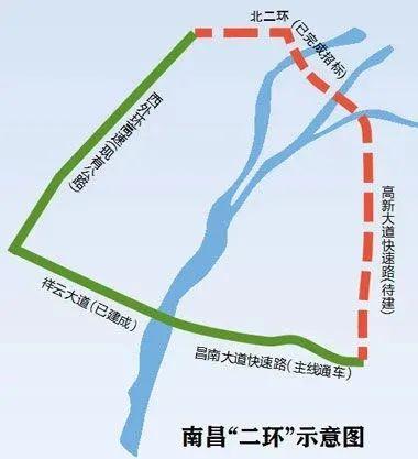 """(南昌""""二环"""" 图片来源:江南都市报)"""
