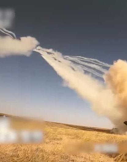 """""""远火""""六炮六发齐射 瞬间摧毁敌军团指挥所"""