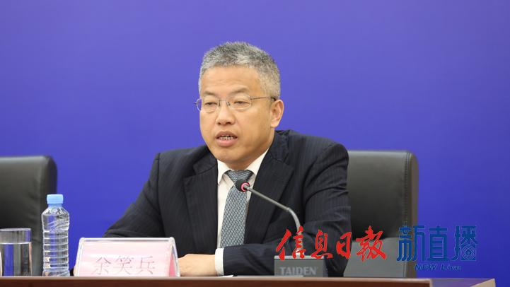 景德镇陶文旅集团党委副书记、总经理余笑兵(文颖 摄)