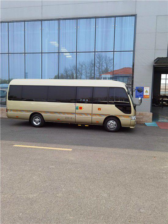 丰田考斯特12座10座公商务车价格配置