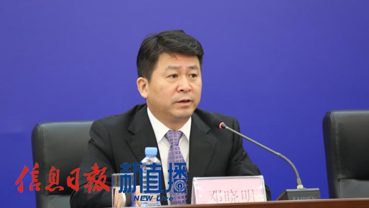 江西省文化和旅游厅产业发展处处长邓晓明(文颖 摄)