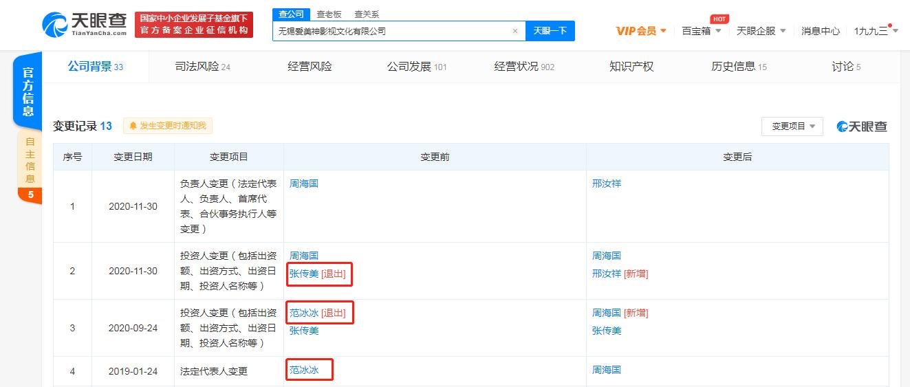 终于!华谊关联公司索要《巴清传》投资款一审胜诉