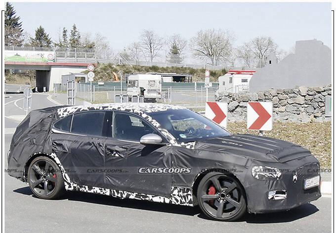 捷尼赛思G70新车型预告分体尾灯/配大尺寸扰流板-图4