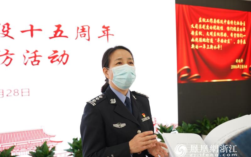时任浙江省女子监狱办公室副主任张素仙忆当年。王晶钠 摄