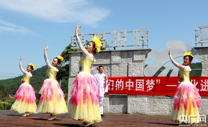 我们的中国梦——文化进万家活动现场(央广网发 通讯员提供)