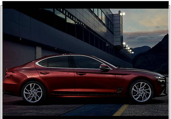 捷尼赛思G70新车型预告分体尾灯/配大尺寸扰流板-图7