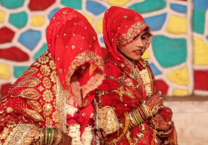 印度一新郎婚礼上背不出乘法表 新娘当场退婚