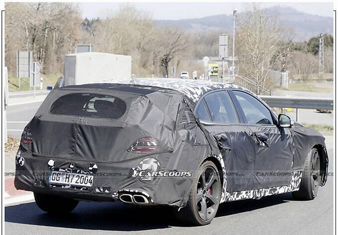 捷尼赛思G70新车型预告分体尾灯/配大尺寸扰流板-图5
