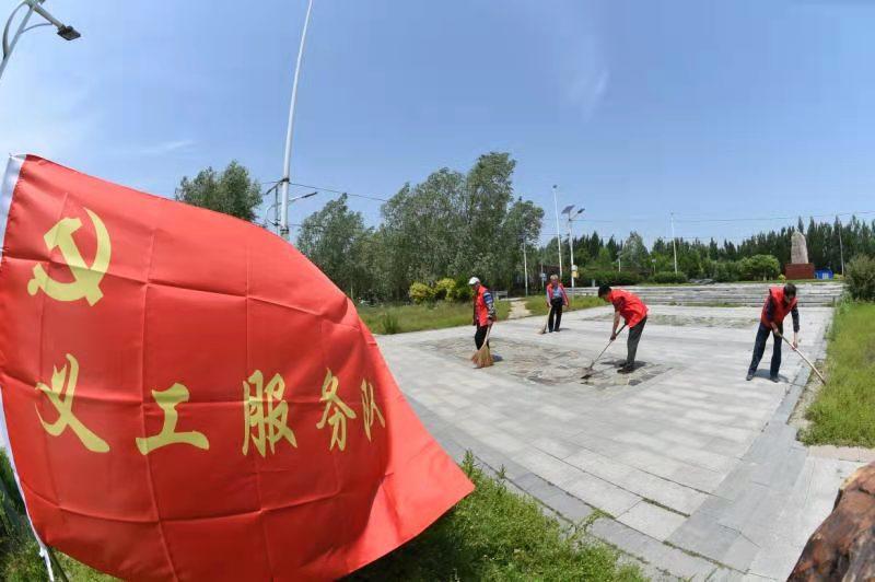 沈阳新民市张家屯镇党委  绘就乡村振兴的党建同心圆
