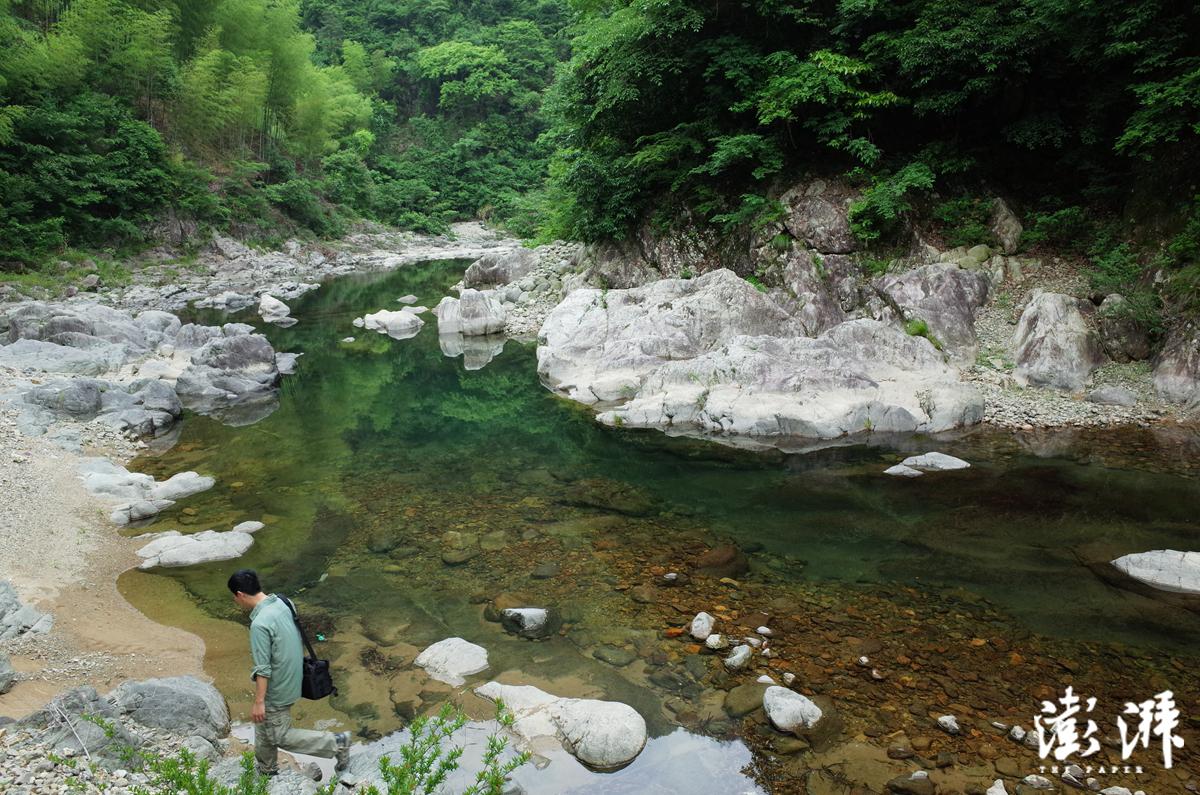 清水溪(摄于2015年5月)