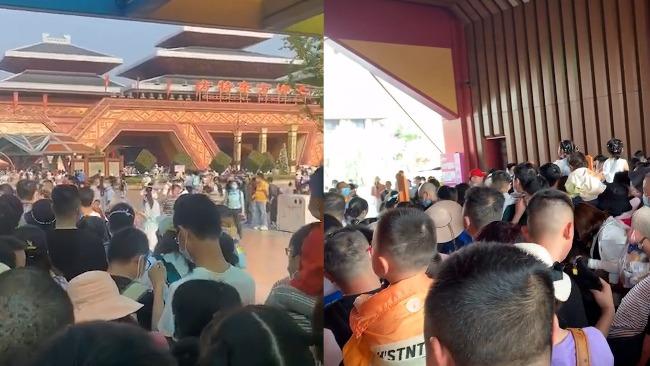 湖北荆州某景区人太多游客大喊退票,景区证实:已安排全额退票!-翼萌网