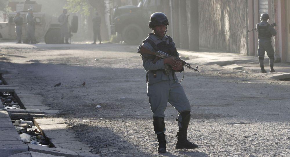 阿富汗安全部队 资料图