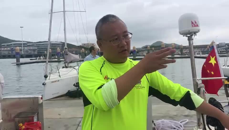 你了解帆船的运行吗?海外挂号网队领队刘晓斌讲解船员分工