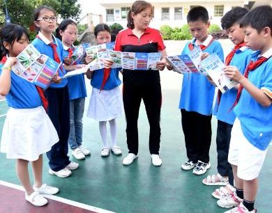 江西南丰:防灾减灾教育进校园