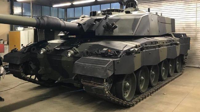 """英国升级版""""挑战者3""""坦克放弃线膛炮 印度会学吗?"""