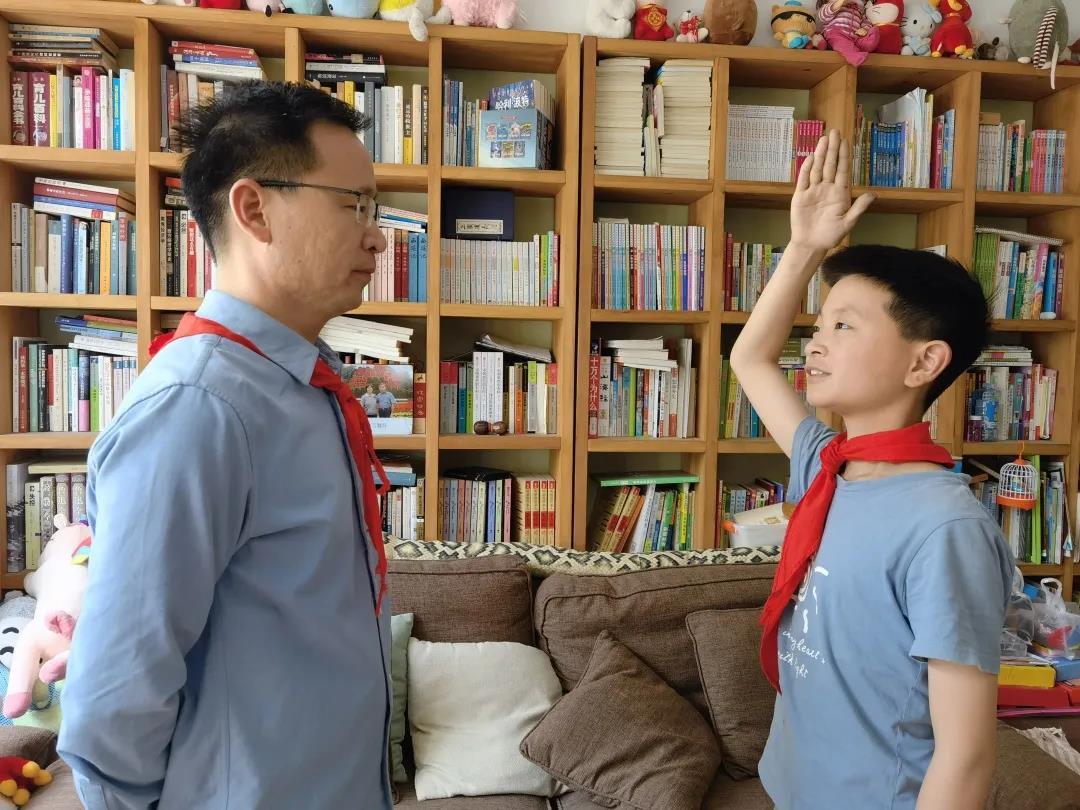 寻找党员故事,传承榜样精神 杭州市政苑小学一直在行动