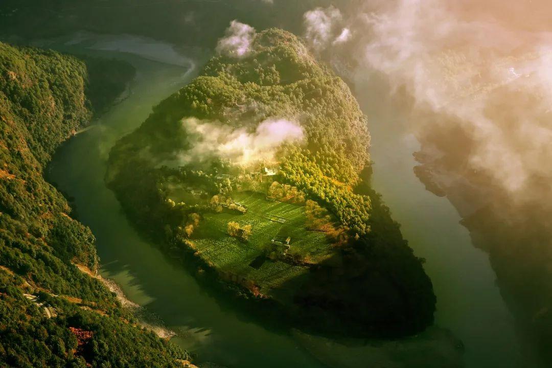 ▲ 和德宏一样 位于滇西之地的怒江大峡谷 。图/视觉中国