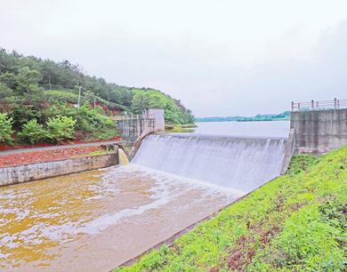 泰和县:泄洪保安全
