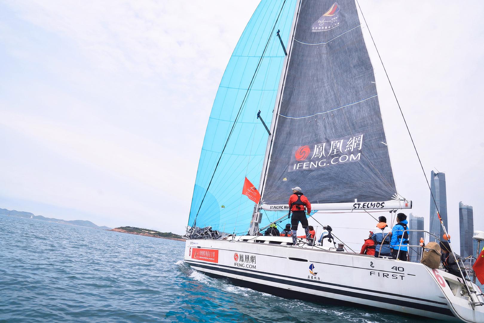 """""""凤凰网号""""体验海上速度与激情!挑战中国最长离岸帆船拉力赛"""