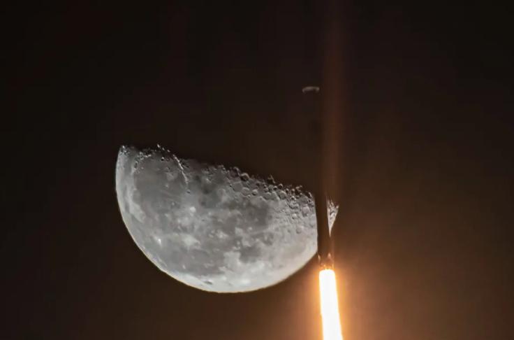 SpaceX在2月份发射的猎鹰9号