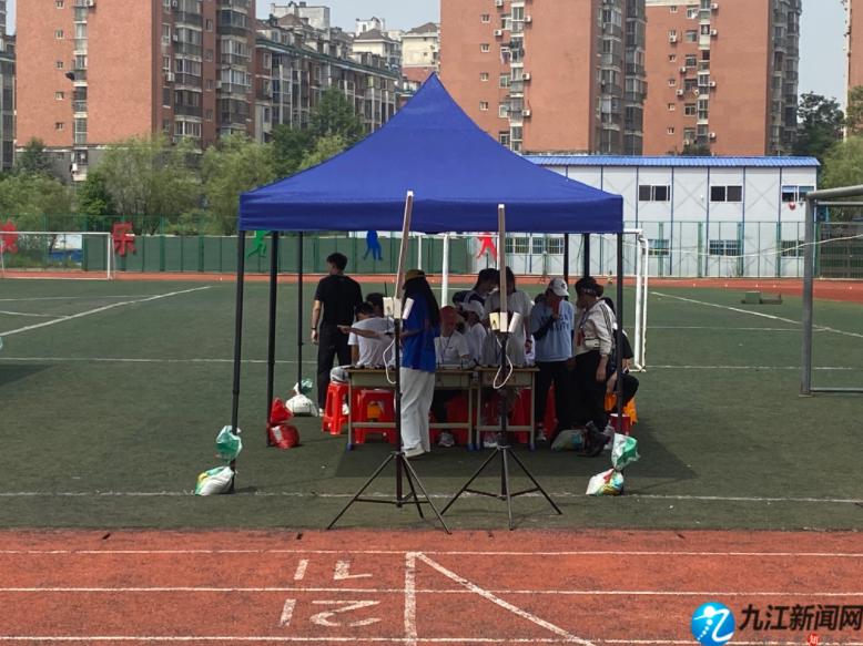 今日,九江2021年初中学考体育测试开考!