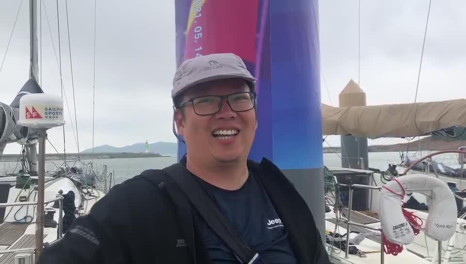 海外挂号网队船员熊一睿谈船队遭遇险境:差点撞上一艘巨轮