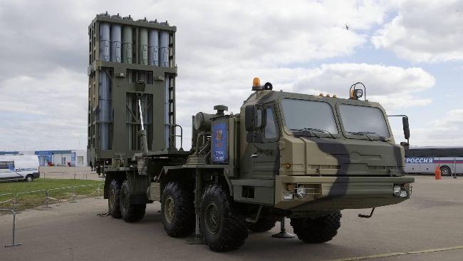 """俄南部军区列装S-350防空导弹 此前已装备S-400和""""铠甲-S"""""""