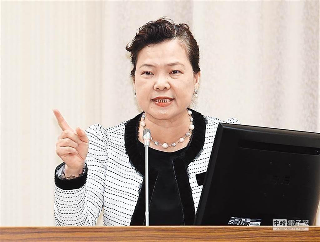 """台湾大停电国民党要王美花下台,""""绿委""""竟辩护:没必要"""