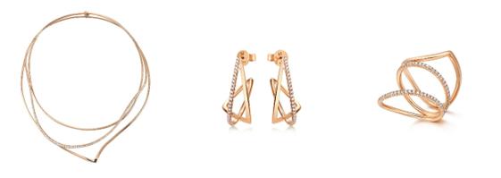 品牌代言人王子文演绎Form「形」系列珠宝