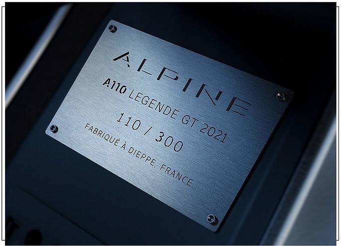 Alpine A110 Legende GT发布搭1.8T/限量300台-图6