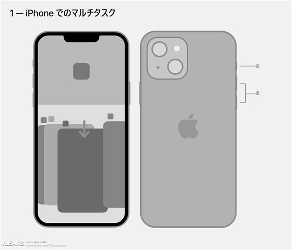 全新ID設計吸睛!iPhone 13外形一覽無余感受下