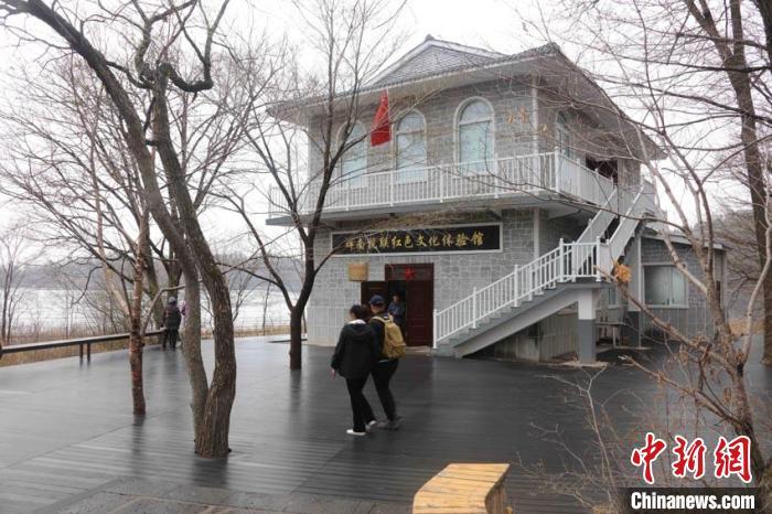 位于吉林龙湾的辉南抗联红色文化体验馆。吉林省林业和草原局供图 吉林省林业和草原局供图 摄