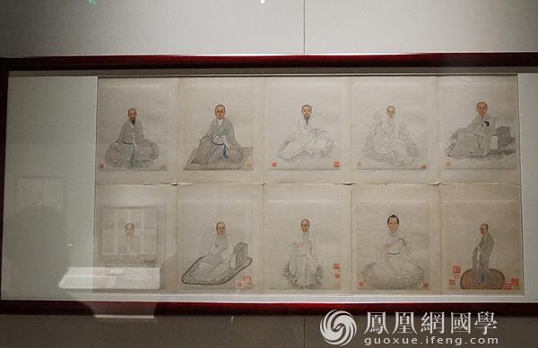 展品(图片来源:凤凰网国学 摄影:王子轩)