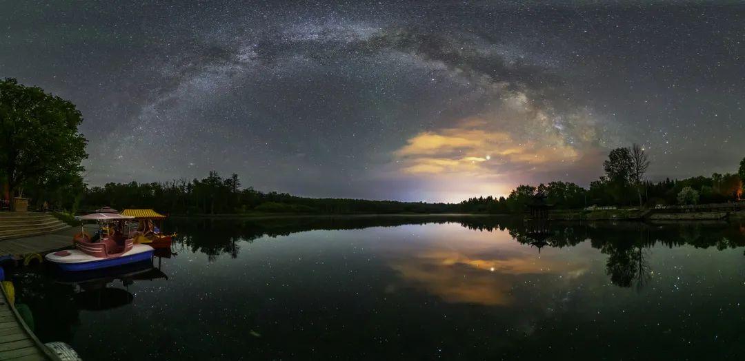 ▲露水河国家森林公园