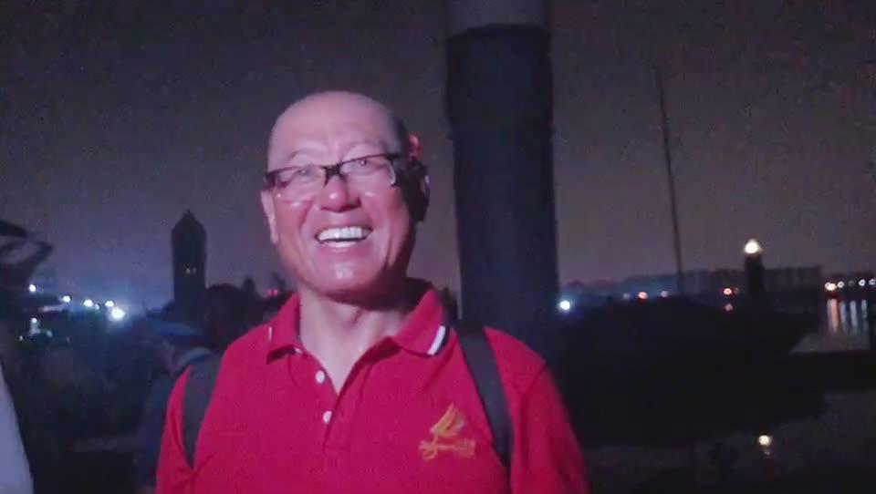 路得队65岁水手:我全队年龄最大 全程没晕船