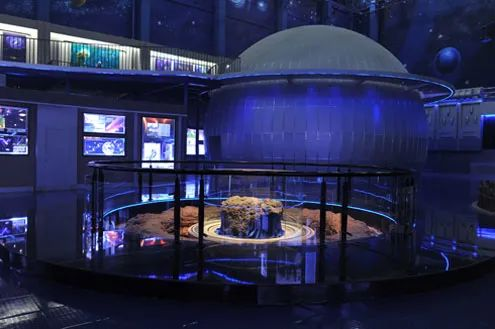 ▲吉林陨石博物馆