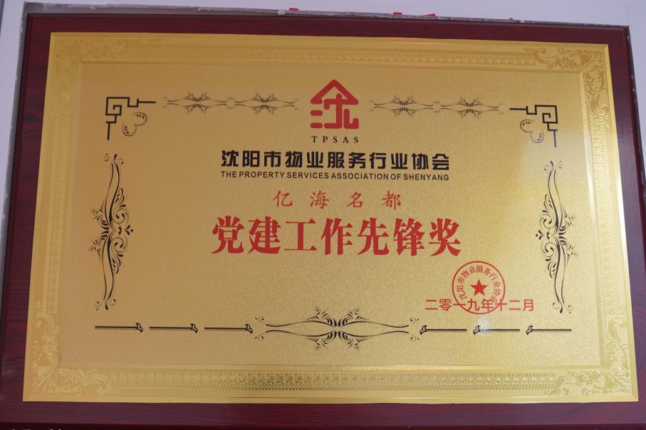 辽宁中维物业管理有限公司亿海名都党支部丨让红色成为物业服务的主色调