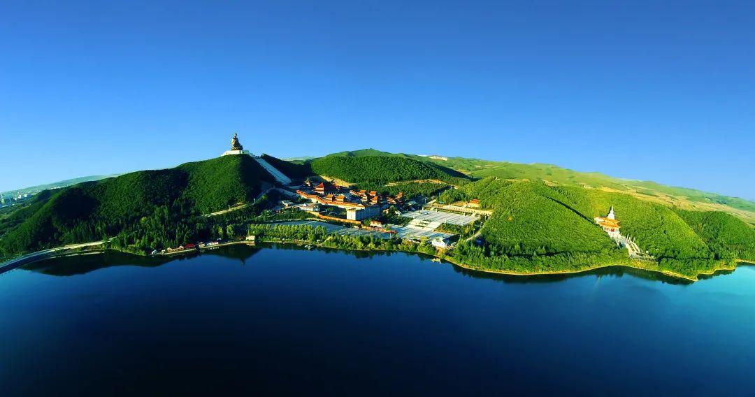 ▲六鼎山文化旅游区