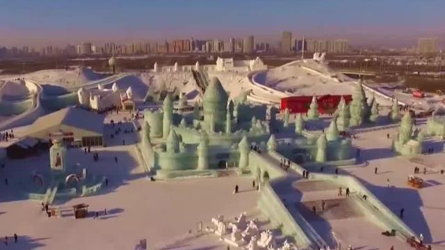2022年北京冬奥会即将开办,民众为中国队加油