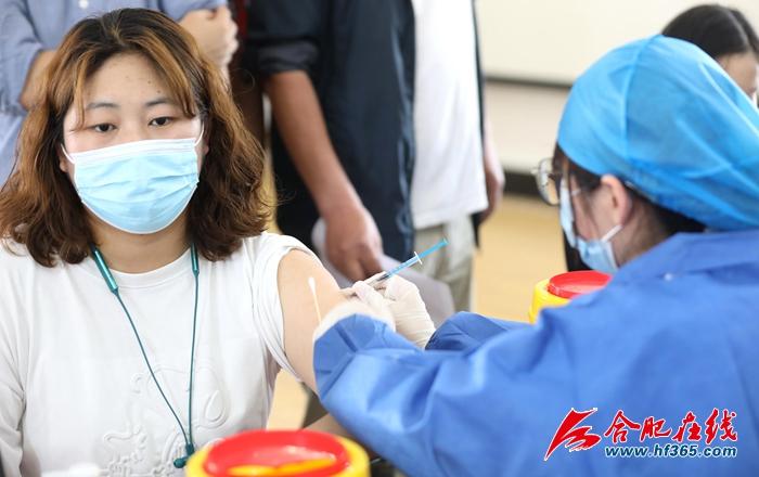 合肥老城区新增三处新冠疫苗接种点 (1)
