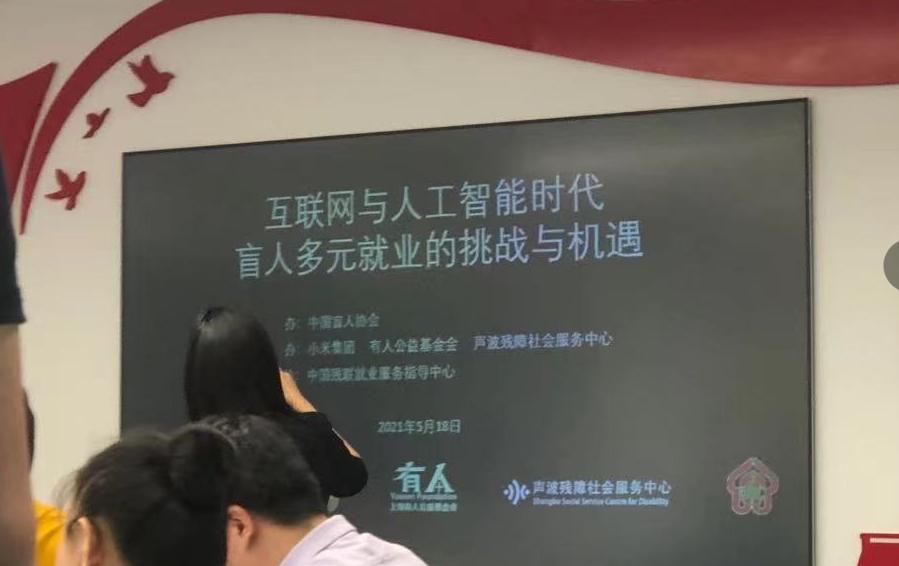 """""""互联网与人工智能时代盲人多元就业的挑战与机遇""""座谈会在京举办"""