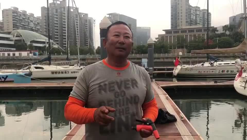 川酒队船长王军:一路逆风前行很辛苦 下一赛段少休息多做事