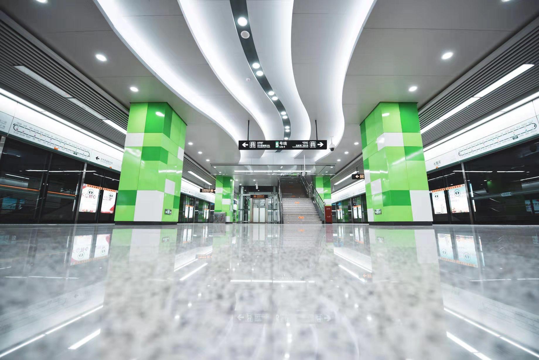 感谢有你!郑州地铁5号线开通两周年