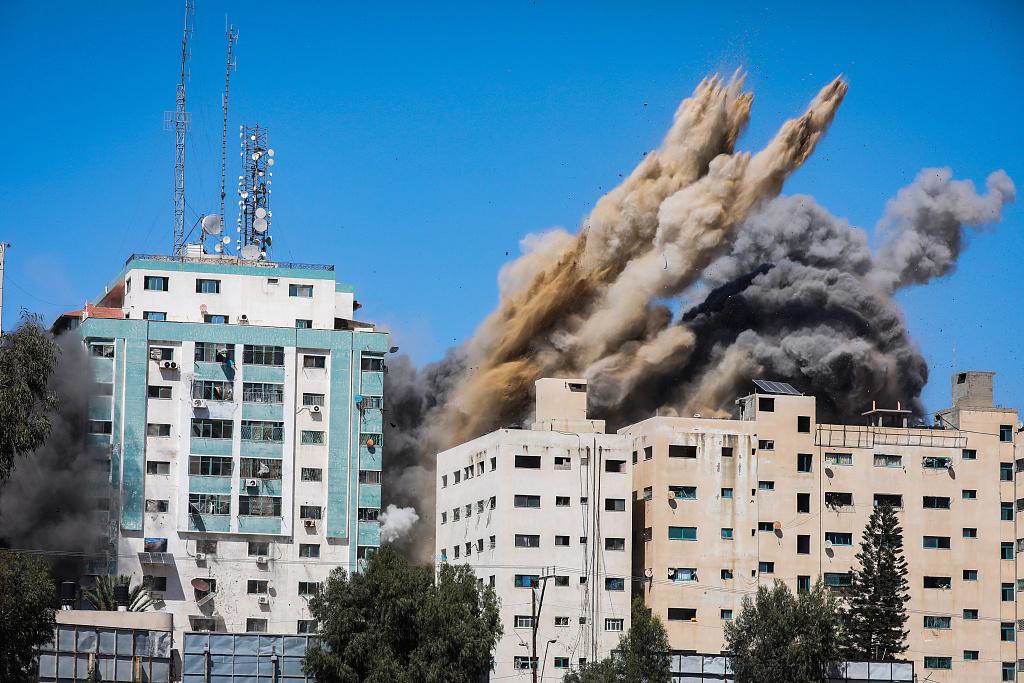 以色列炸毁国际媒体大楼 联合国秘书长表态