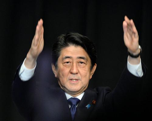 日本前首相安倍晋三