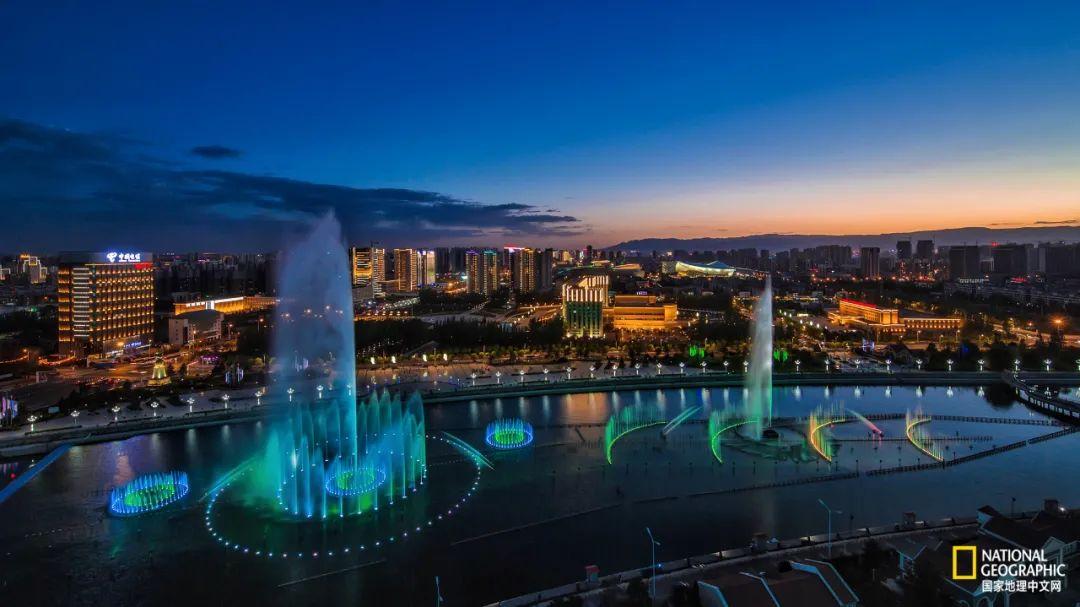 如意河广场与喷泉