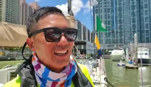 海外挂号网队员刘承奇:船上煮饭有别样体验
