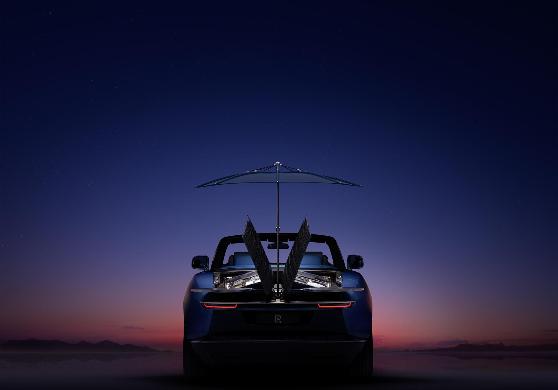 """劳斯莱斯""""浮影""""发布:专属车身定制的极致呈现"""