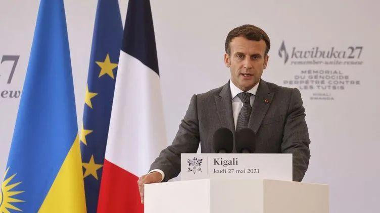 """近百万人被杀,马克龙承认法国对卢旺达种族灭绝""""有责任"""",但非""""帮凶""""插图(1)"""