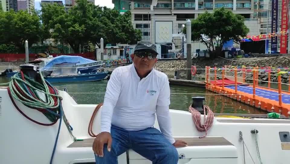 川酒清辉队长:几乎全程顶风前行 船员享受比赛过程